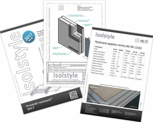 Manuali brochure isolstyle