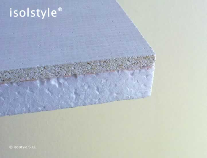 Isolstyle pannelli per soffitti in polistirene espanso